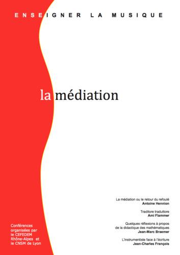 """Afficher """"numéro 1 : Enseigner la musique : La médiation"""""""