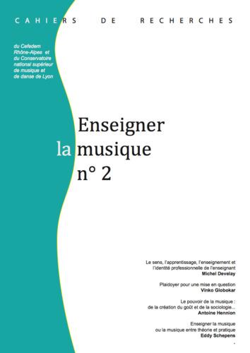 """Afficher """"numéro 2 : Enseigner la musique"""""""